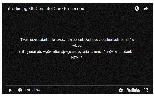Problem z HTML5