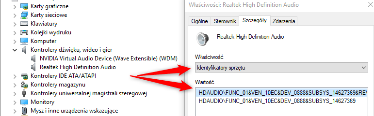 Nvidia virtual audio device (wave extensible) (wdm