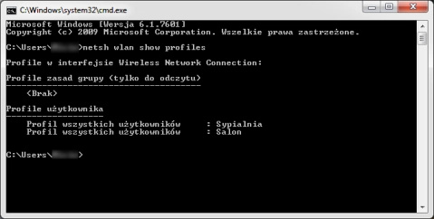 Usuwanie Wi-Fi Wiersz Poleceń479x242